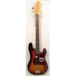 Fender 62 American Vintage 4 String Precision Bass in 3 Tone Sunburst