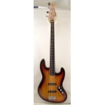 Squier Vintage Modified 4 String Fretless Jazz Bass, Sunburst
