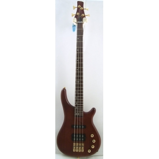Westcoast BG4 Neck Thru Body 4 String Bass in Brown Stain