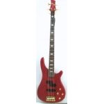 Westcoast BG2 4 String Bass in Natural or See Through Red