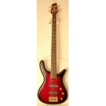 Levin LB400 4 String Bass in Redburst