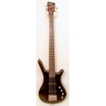 Warwick Rockbass Corvette 5 String Bass, Black, Secondhand