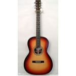 Dave King Katrina Model 000 Size Acoustic Guitar In Sunburst