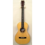 Dave King Louise Koa Model Parlour Acoustic Guitar In Natural