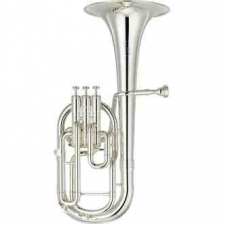 Yamaha YAH803S Neo Tenor Horn, Silver Plated With Case & Mouthpiece