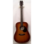 Breedlove Passport Plus D/SFe Electro Acoustic Guitar in Sunburst