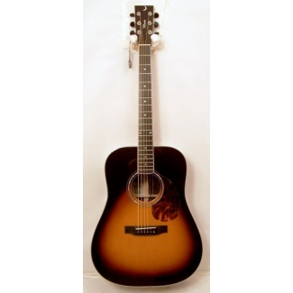 Jimmy Moon Bryan Adams Signature Model Electro Acoustic Guitar in Sunburst