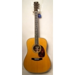 Satori YD28HEQ Electro Acoustic Guitar, Vintage Natural, Secondhand