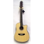 Levin LD30CE12 12 String Electro Acoustic Guitar in Natural