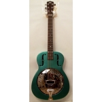Recording King RM996 Resonator Guitar in Green