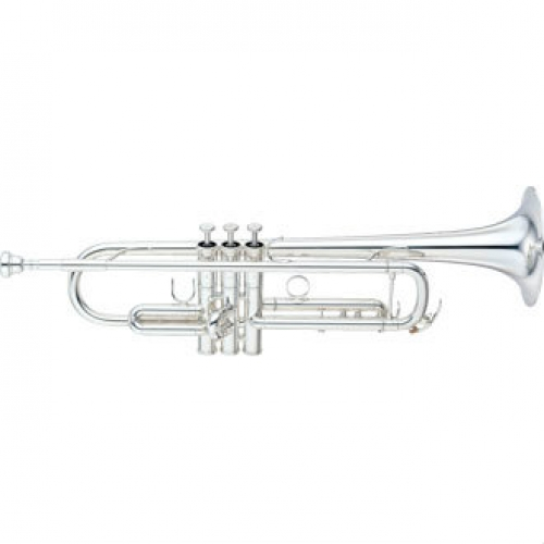 Yamaha YTR8335LAS Bb Trumpet in Silver Plate with Mouthpiece & Case