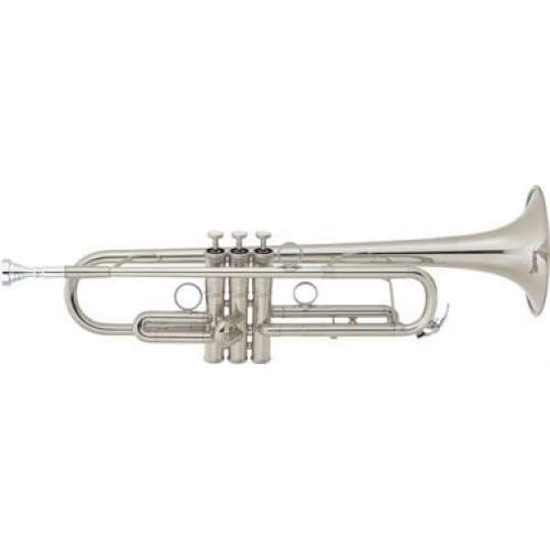 Yamaha YTR8340EMS Eric Miyashiro Bb Trumpet in Silver Plate with Case