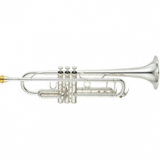Yamaha YTR8345S Xeno Bb Trumpet in Silver Plate with Mouthpiece & Case