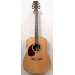 Cort Earth 200 Left Handed Acoustic Guitar in Natural