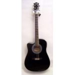 Levin LD60CELH Left Handed Electro Acoustic Guitar in Black