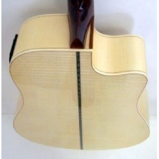 Levin LD60CELH Left Handed Electro Acoustic Guitar, Natural, Secondhand