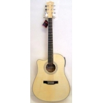 Levin LD60CELH Left Handed Electro Acoustic Guitar in Natural