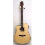 Levin LD30CELH Left Handed Electro Acoustic Guitar in Natural