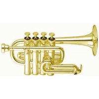 Yamaha YTR6810 Bb/A Piccolo Trumpet With Mouthpiece & Case