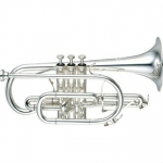 Yamaha YCR8335S-02 Neo Bb Cornet (Silver Plated) with Case & Mouthpiece