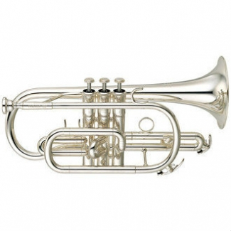 Yamaha YCR6330S-II Bb Cornet (Silver Plated) with Case & Mouthpiece