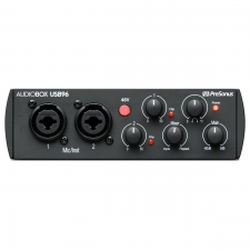 PreSonus AudioBox 96 - Audio Interface, 25th Anniversary (BLACK)