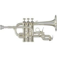 Yamaha YTR9825 Bb/A Piccolo Trumpet with Mouthpiece & Case