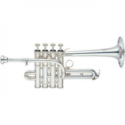 Yamaha YTR9835 Bb/A Piccolo Trumpet with Mouthpiece & Case