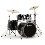 Premier APK Modern Rock 22 Drum Kit Available In Black, Red, Blue or Silver
