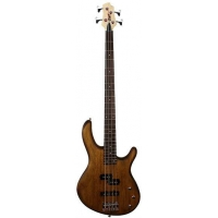 Cort Action 4 PJ Bass Guitar, Open Pore Walnut