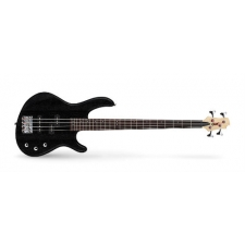 Cort Action PJ OPB Action Series 4-String Bass in Open Pore Black