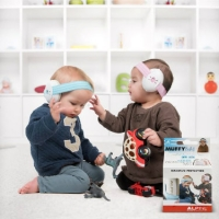 Alpine Muffy Baby Ear Muffs in Pink - Hearing Protection for Babies