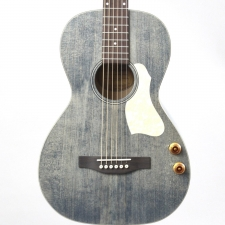 Art & Lutherie Roadhouse Parlour Electro Acoustic Guitar in Denim Blue