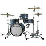 Ludwig 4 piece Questlove Breakbeats Shell Pack in Azure Blue Sparkle
