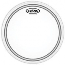 "Evans EC2S 13"" Frosted Drum Head W/ Sound Shaping Technology (B13EC2S)"
