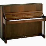 Yamaha B3-SG2 Silent Upright Piano in Open-pore Dark Walnut
