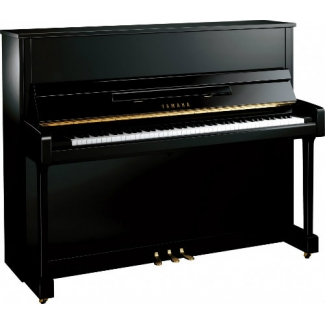 Yamaha B3 Upright Piano in Black Polyester (B3EPE)