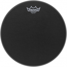 "Remo Ambassador 12"" Black Suede Batter Top Head (BA0812ES)"