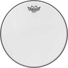 "Remo Ambassador 13"" White Suede Batter Top Head (BA0813WS)"