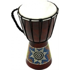 """Percussion Workshop Jammer djembe drum with 10"""" head"""