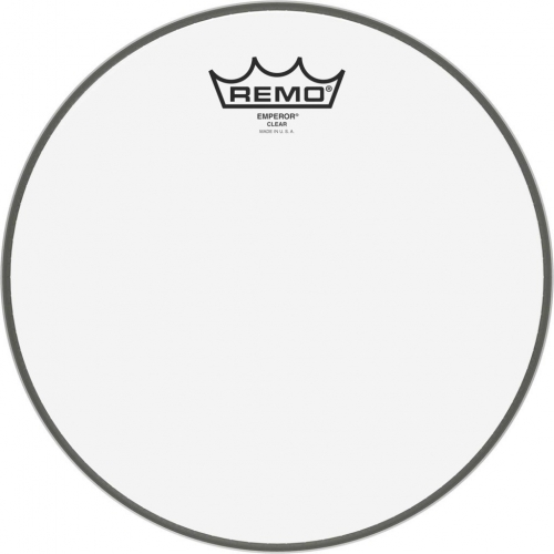 """Remo Emperor 10"""" Clear Batter Top Head (BE031000)"""