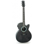 RainSong BI-WS1000N2 Black Ice Graphite WS Electro Acoustic Guitar