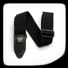 Ernie Ball PolyPro Guitar Strap Black