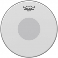 "Remo Emperor X 12"" Coated Batter Top Head With Black Dot On Bottom (BX011210)"