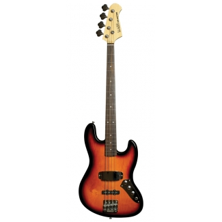 Bass Collection Portrait Fretless 4 String Bass, Solar Flare