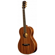 Bedell OH-12-G Parlour Acoustic Guitar in Mahogany inc Case, Secondhand