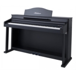 Bluthner e-Klavier 1 Digital Piano in Black Satin PVC Cabinet