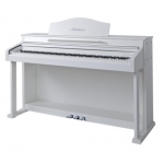 Bluthner e-Klavier 1 Digital Piano in White Satin PVC Cabinet
