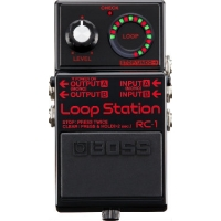 Boss RC1 BK Loop Station Effects Pedal,Limited Edition, Black