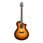 Breedlove Discovery Concert CE, Tobacco Sunburst  Electro Acoustic